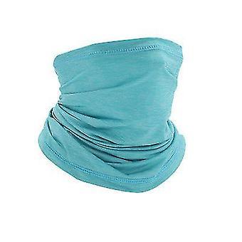 قناع الوجه الأزرق المشي الرقبة أقنعة الوجه القابلة لإعادة الاستخدام أقنعة الوجه باندانا قابلة للغسل x1813