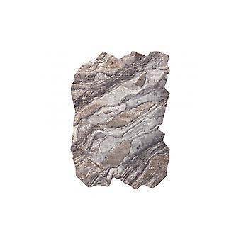 Rug TINE 75313B Rock, stone - modern, irregular shape dark grey / light grey