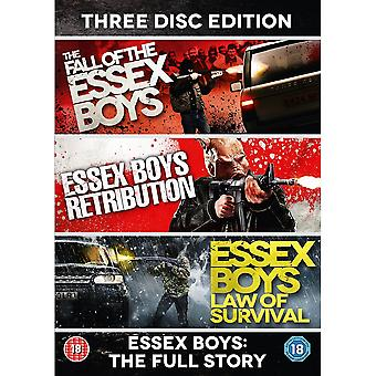 Essex Boys: The Full Story - 20th Anniversary Edition 3 Disc DVD