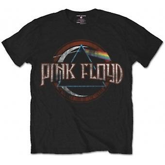 Pink Floyd DSOTM Vintage Seal Negro Hombre Camiseta Tamaño: Sm