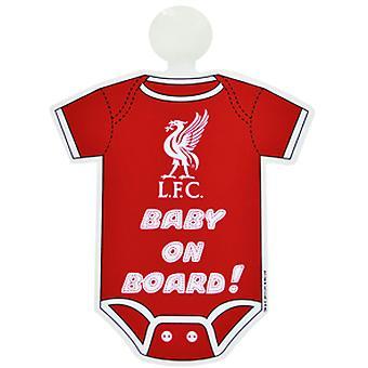 Liverpool FC baby ombord skylt