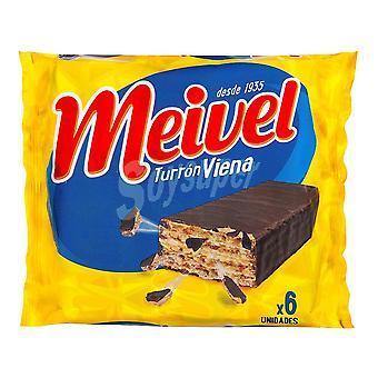 Biscuiți Meivel Viena Nougat (6 uds)