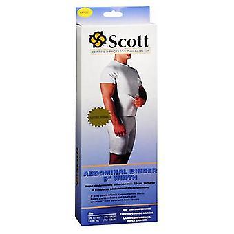Scott Specialties Scott Abdominal Binder 9 Inch Width, Large Each