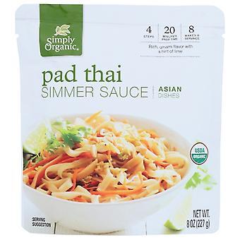 Simpelthen Økologisk Sauce Pad Thai Org, tilfælde af 6 X 8 Oz