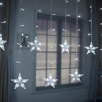 Led Curtain Garland On The Window String Light