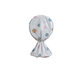 Standing Fan Dust-Proof Cover Electric Fan Dust Cover Guard Protector Planet Pattern