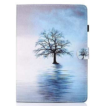 Case For Ipad Pro 11 2018 Cover With Auto Sleep/wake Pattern Magnetic - Tree