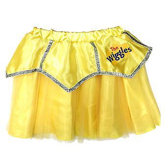 Emma The Wiggles Keltainen Wiggle Ballerina Taapero Tytöt Puku Tutu Hame 18-36M