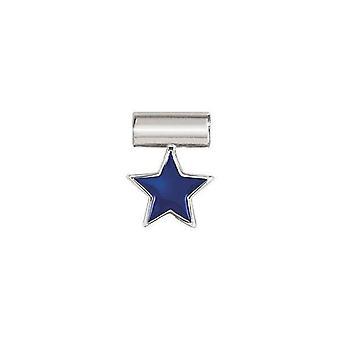 Nomination italy seimia pendant charm - blue star 147118_004
