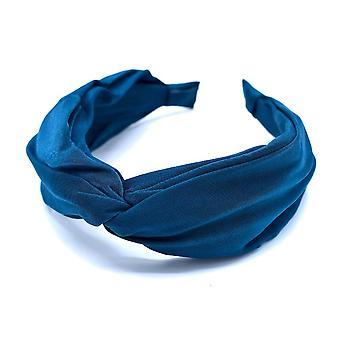 Blå diadem - tygklätt