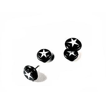Fake Plug Star - Mustavalkoinen