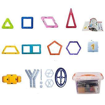 Magneettilohkojen konstruktori lelu
