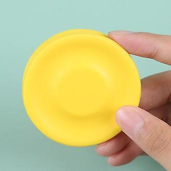 Flygende plater mini strand flygende disk for utendørs sport silikon balanse plate