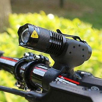 Mode Bicycle Light Led Cycling Front Lamp Torch Impermeabile Zoom Torcia