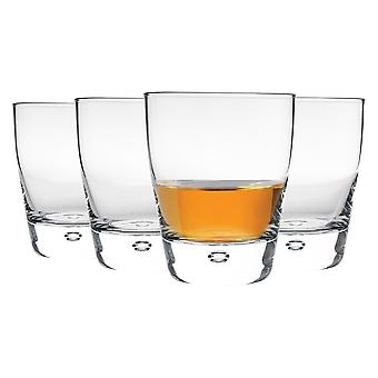 4x Luna Whisky Glasses Classic Whiskey Water Cocktail Tumblers 260ml Claro