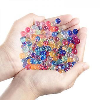 Cuentas mágicas de agua, cuentas absorbentes, cuentas grandes (mezcla de color)