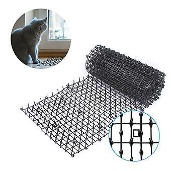 Tuin kat hond scat mat afstotende mat plastic spike-keeping stekelige strips thuis