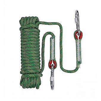 Ropes hardware cable climbing rope braided rope clothesline climbing rope 10mm green 20 meters climbing rope