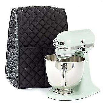 Kuchnia Fitted Stand Home Kitchen Food Mixer Osłona przeciwpyłowa Czysta wodoodporna (czarna)