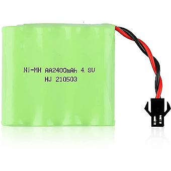 1 Rechargeable battery piece 4.8v ni-mh 2400 mah for remote car control
