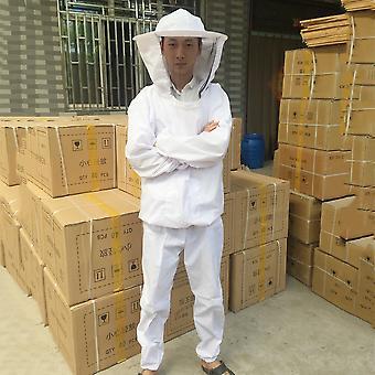 Mehiläishoidon suojavarusteet Veil Bee Pitää koko kehon puku hattu smock