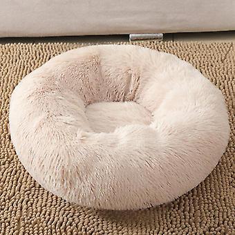 Mimigo luxuriöse orthopädische Donut Hund Bett flauschige leichte Bettwäsche Pads für Hunde & Katzen aus Ultra-komfortable Kunstpelz mit einem Anti-Rutsch-Botto