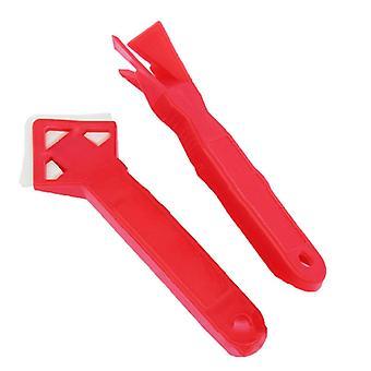 2kpl / 1 sarja kestävä silikoni lasi sementtisarja kaavin tiiviste tiiviste työkalu caulking tiivistystiiviste viimeistely Grrout lattia home poistaminen