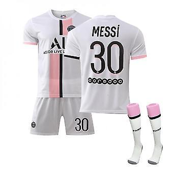 Messi Psg Maillot,Paris Team T-shirt-messi-30, Paris Team Vêtements pour enfants