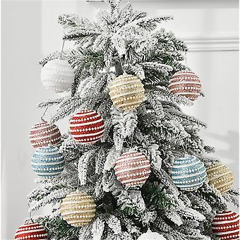 Christmas Balls Ornaments Shatterproof Christmas Tree Decoration Ball