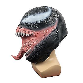 Venom Mask Headgear Masquerade Horror Headwear Halloween