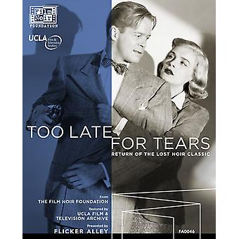 Too Late for Tears [Blu-ray] USA import
