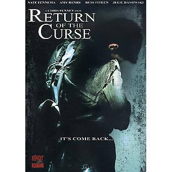 Return of the Curse [DVD] USA import