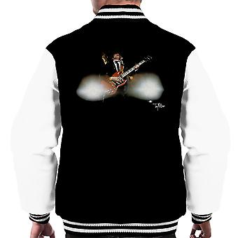 Angus Young Guitar ACDC 1988 Men's Varsity Jacket
