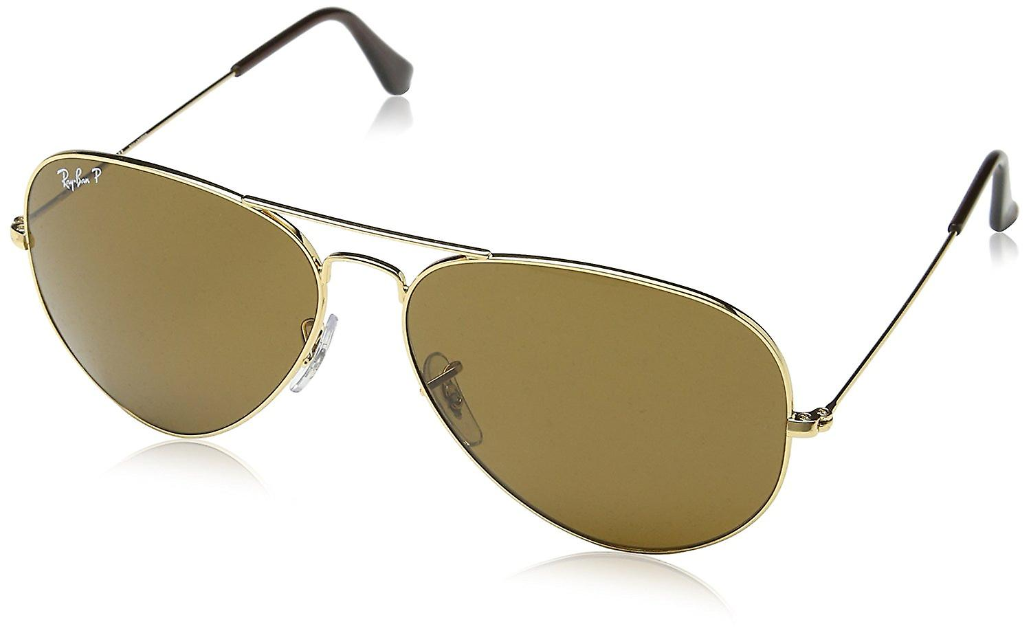 2565035ae0 Ray-Ban Aviator Classic Gold Polarized Sunglasses - RB3025-001 57-62 ...