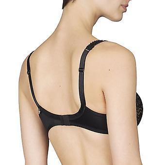Maison LeJaby Elixir G51556-04 Women's Hanae Black With Lace Panty Shaper Sculpting Brief Knickers