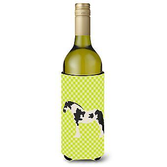 Cyldesdale hevonen vihreä viinipullo Beverge eriste Hugger