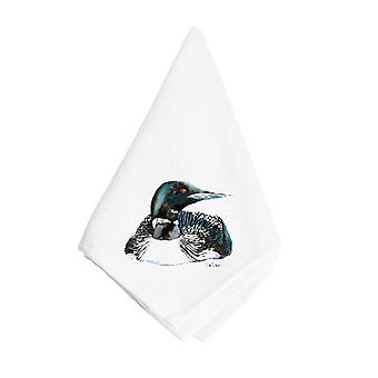 Carolines Treasures  8717NAP Loon Napkin