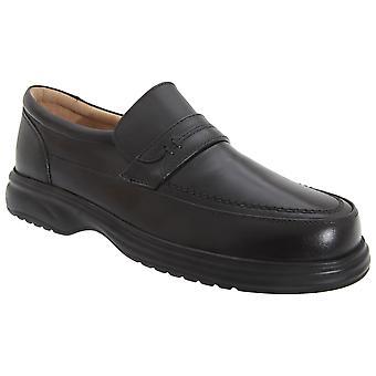 Roamers Mens nahan lokasuojan välilehti vapaa-ajan kenkiä