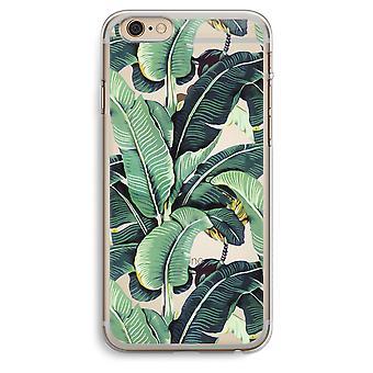 iPhone 6 Plus / 6S Plus transparant Case (Soft) - banaan verlaat