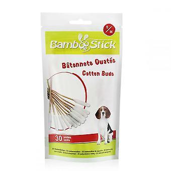 BambooStick Pet ватные палочки (Pack из 30)