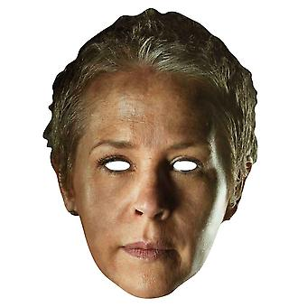 Carol Peletier The Walking Dead Single Card Party Fancy Dress Mask