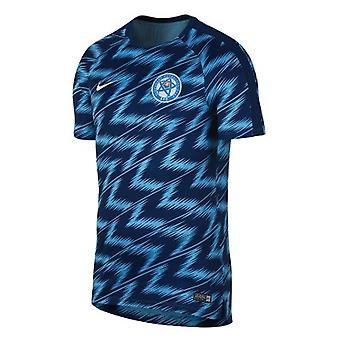 2018-2019 Slovakia Nike ennen ottelua koulutus paita (Yhdysvaltain laivasto)