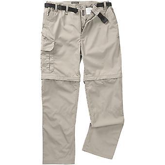 Craghoppers Mens Kiwi Convertible Walking Trousers Brown
