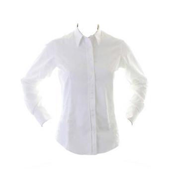 Kustom Kit Ladies City Business Blouse Long Sleeve