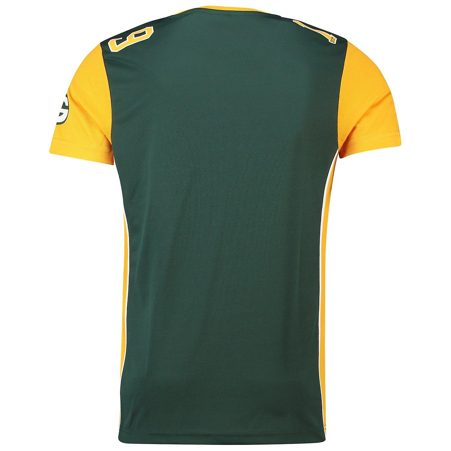 Majestic NFL Mesh Polyester Jersey Shirt - Green Bay Packers