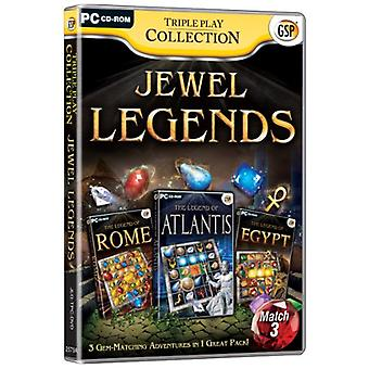 Triple Play Collection Jewel Legends (PC CD) - New