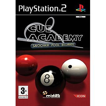 Cue Academy Snooker  Pool  Billiards (PS2) - New Factory Sealed
