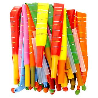 Rocket/Torpedo Balloons Bag 0f 100 (includes blowing tubes)