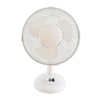 Lloytron Stay Cool Desk Fan 9-tuumainen 30 W Valkoinen (F1003WH)