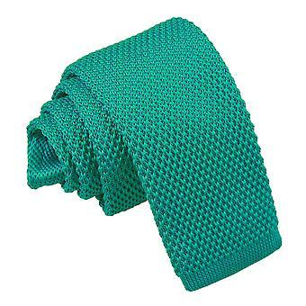 Teal strikket slips for gutter
